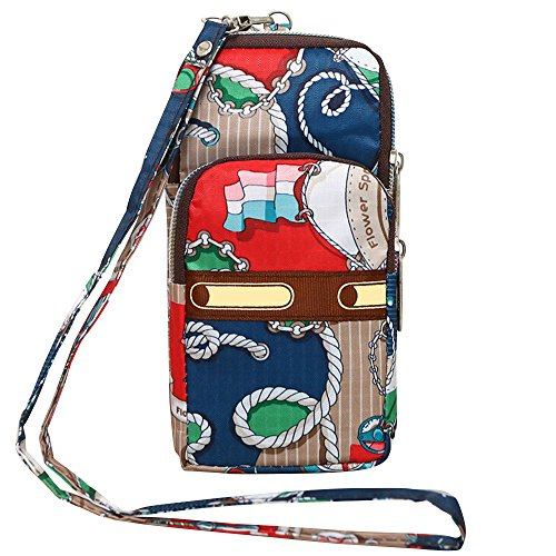 Wocharm Mini Shoulder Creative Crossbody Layers Messenger Anchor Wristlet Purse Handbag 3 Womens 3 ArqwaA