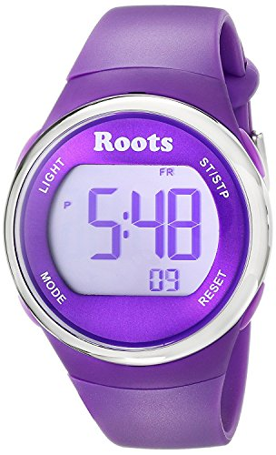 Roots Cayley Women's Resin Strap Digital Chronograph Watch with EL Backlight and Alarm - Womens Armitron Resin Analog Watch