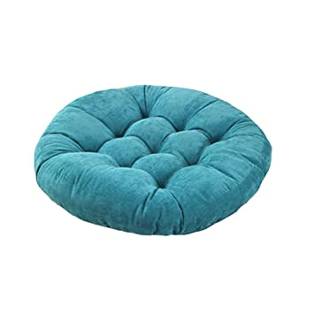 Amazon.com: JINGXIN Round Corduroy Floor Pillow Chair ...