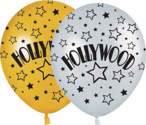 Hollywood Balloons Package of 50 -