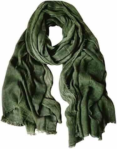Double Layered Satin Silk by Royal Silk® Navy Silk Aviator Scarf for Men