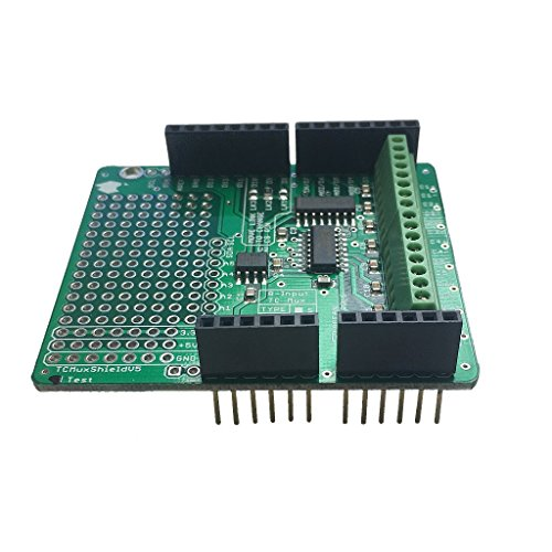 Arduino Thermocouple Multiplexer Shield (K - MAX31855K) (With Headers)