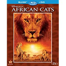 Disneynature: African Cats (Two-Disc Blu-ray/DVD Combo in Blu-ray Packaging) (2012)