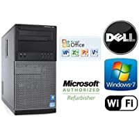 Dell Optiplex 990 Intel Quad Core i7-2600 3.4GHz Windows 7 Pro / 16GB RAM / NEW 120GB Solid State Drive SSD/ WiFi / Desktop Computer Tower + MS Office