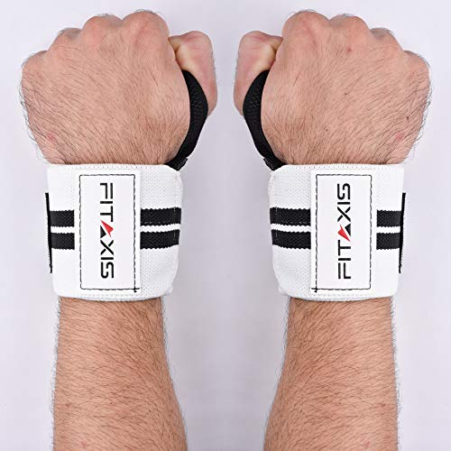 Wrist Wraps premium cotton strength Elastic 12