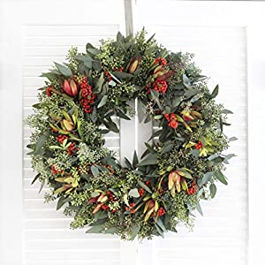 "Fresh Premium Winter Wreath - 20"" (Free Shipping) 51"