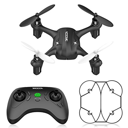 DROCON Falcon GD90-A Mini Beginner Drone Hovering Quadcopter with Altitude Hold Mode One Key Take Off Landing Return Home Entry Level for Kids (Best Entry Level Camera For Beginners)