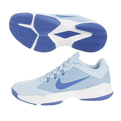 Nike Chaussure Femme air Zoom Ultra Clay 845047 401 Bleu ciel-36.5