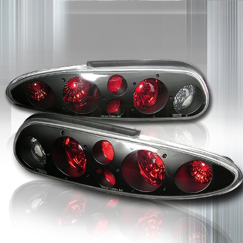 Black Housing Altezza Tail Light Made For 93-02 1993 1994 1995 1996 1997 1998 1999 2000 2001 2002 Chevrolet Chevy Camaro