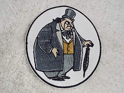 Batman PENGUIN Embroidered Iron-on Patch