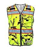 SafetyShirtz SS360 Backwoods Camo ANSI Class 2 Safety Vest XL