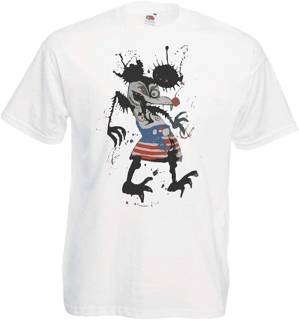 T Shirt Mit Figur Muster
