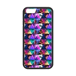 iPhone 6 Protective Case - Colorful Galaxy Space Hardshell Cell Phone Cover Case for New iPhone 6 by runtopwell