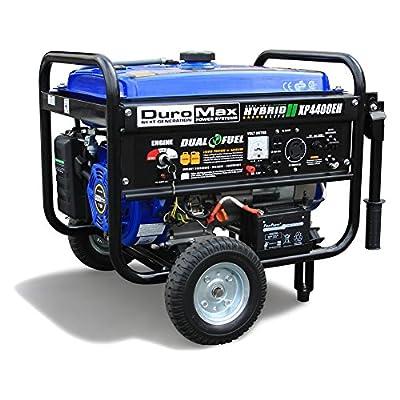 DuroMax Dual Fuel 4400 Watt Hybrid Portable Generator
