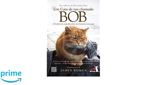 Um Gato de Rua Chamado Bob (Em Portugues do Brasil): James Bowen: 9788581631523: Amazon.com: Books