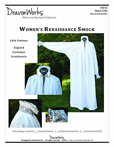 Spanish Renaissance Costumes (Pattern for 16th Century Women's Renaissance Chemise or Smock)