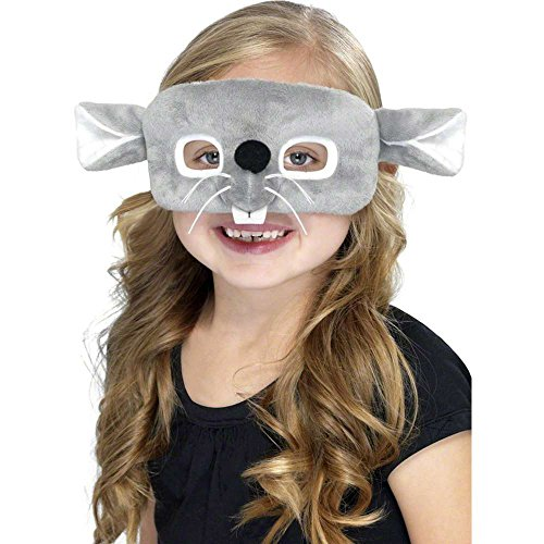 Kids Mouse Plush Mask (Plush Mouse Eyemask)