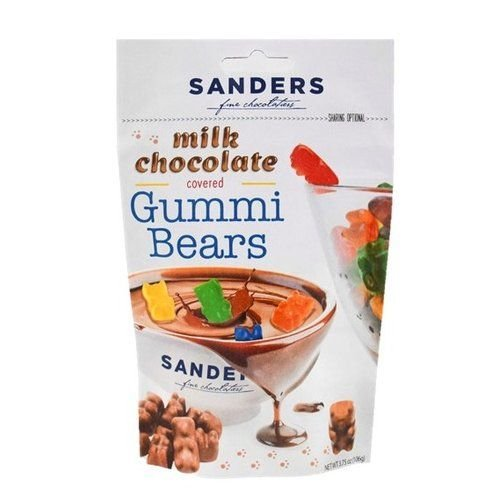 Chocolate Covered Gummi Bears 3.75 OZ