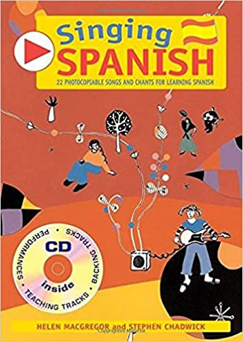 Singing Languages - Singing Spanish Book + CD : 22 Photocopiable