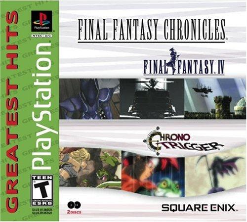 Final Fantasy Chronicles: Chrono Trigger/Final Fantasy IV (Parasite Inc Cd)