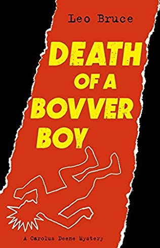 book cover of Death of a Bovver Boy