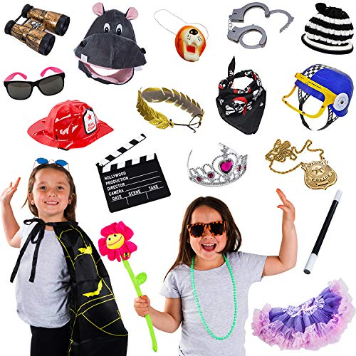 Photo Booth Props - Photo Booths for Parties - 15 Pc Assorted Photo Booth Kit by Funny Party Hats]()
