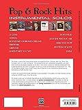 Pop & Rock Hits Instrumental Solos: Alto Sax, Book & CD (Pop Instrumental Solo Series)