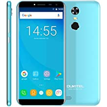 OUKITEL C8 2GB+16GB 5.5 inch Android 7.0 MTK6850A Quad Core up to 1.3GHz WCDMA & GSM (Blue)