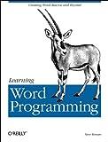 Learning Word Programming, Roman, Steven, 1565925246