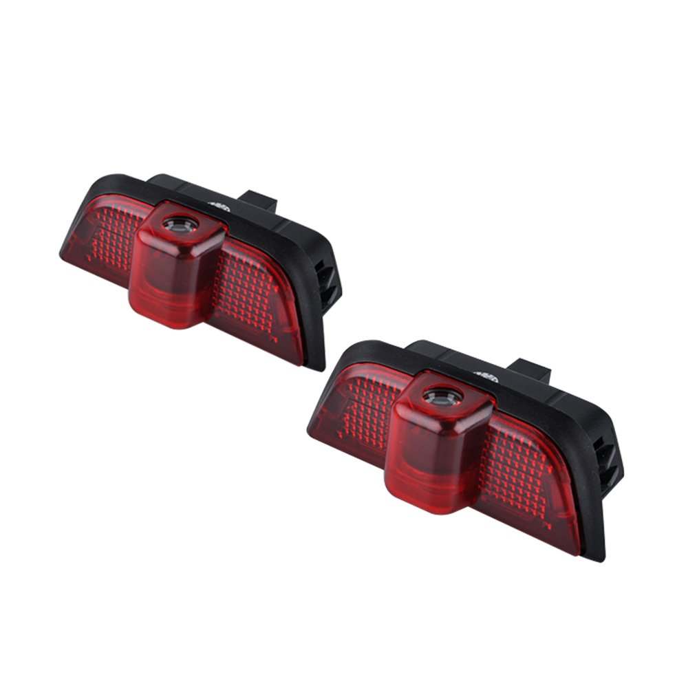 JDWG 1 Pair Car LED Projector Door Lamp Ghost Shadow Welcome Light Led Courtesy Logo Kit Benz W204