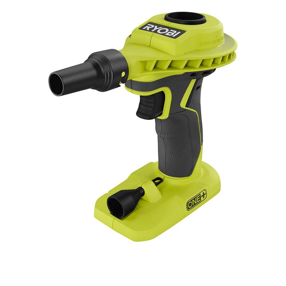 Ryobi 18-Volt ONE+ Cordless High Volume Power Inflator (Tool Only) P738 (Bulk Packaged, Non-Retail Packaging)