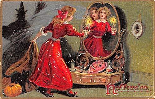 Halloween Post Card Old Vintage Antique Raphael Tuck Publishing 1909