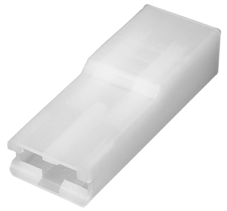 AERZETIX: 100 x Conectores caja de conexion 1 vias para terminales electricos hembra 6.3mm SK2-C11721-R661
