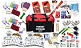 4 Person Ideal Survival Kit Deluxe - Prepare For Earthquake, Evacuation, Emergency Disaster Preparedness 72 Hour Kits for Home, Work, or Auto