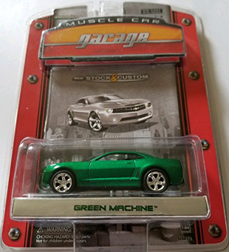 Greenlight Muscle Car Garage Series 2 Limited Edition - 2006 Chevy Camaro Concept [Chase Green Machine - Only 25 - Camaro Chevy 2006 Concept Car