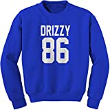 Expression Tees Crew Drizzy 86 Adult Large Royal Blue