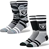 Stance Men's Raiders Football Sock 2 Pack