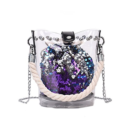 Shoulder Color Phone Zhrui Small Purple Bag Shoulder Black Bags Bag Woman Mobile Girl Fashionable fzqCEqP