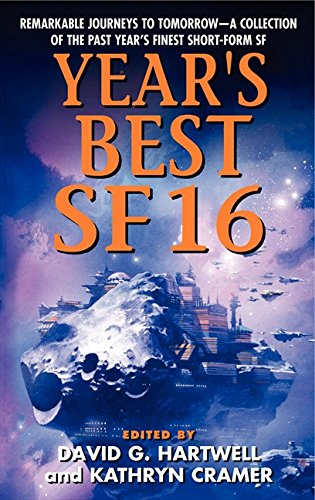 book cover of Year\'s Best SF 16