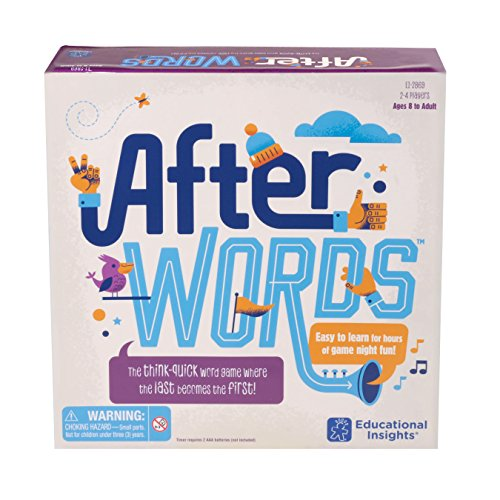 Educational Insights AfterWORDS (Best Educational Board Games For Middle School)