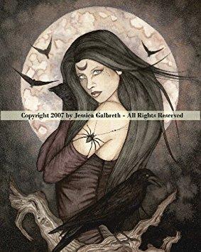 - Ceramic Sensations All Hallows Eve ~ Jessica Galbreth Fantasy Art Tile