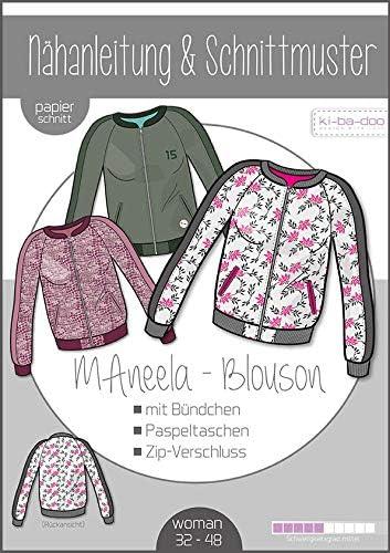 Kibadoo - Patrón de costura para confeccionar blusa MAneela ...