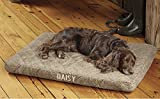 Orvis Platform Dog Bed Cover / X-large Dogs 90-120 Lbs., Brown Tweed,