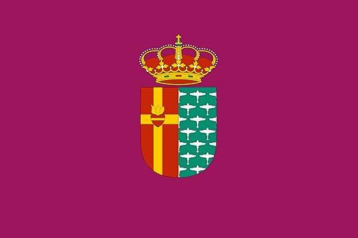 magFlags Bandera Large Getafe, en Madrid España | Bandera Paisaje | 1.35m² | 90x150cm: Amazon.es: Jardín