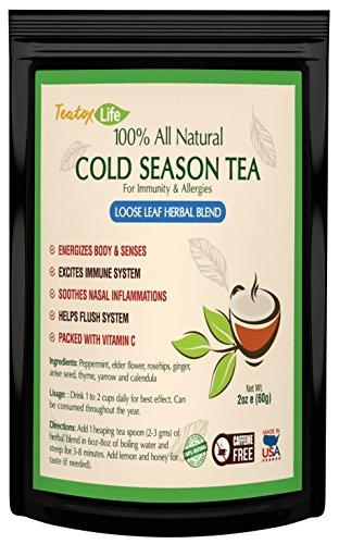 Elderflower Tea Loose Leaf Allergies product image