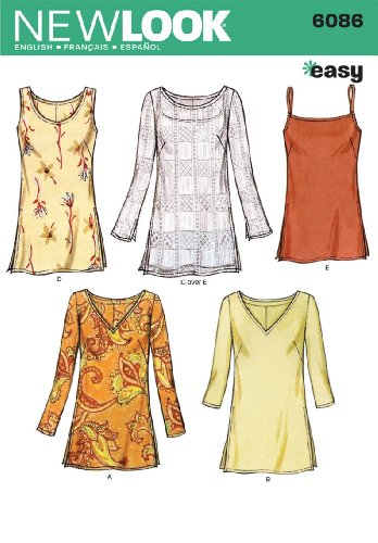 Sewing Pattern 6086 Misses 10 12 14 16 18 20 22 product image