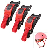 3x Motorcycle Helmet Chin Strap Quick Release Disconnect Clip Buckle Replacement
