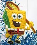SPONGEBOB SQUAREPANTS Holiday Christmas Ornament Set - Unique Shatterproof Plastic Design