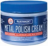 Blue Magic Metal Polish Cream For Chrome & Aluminum 7 Oz.