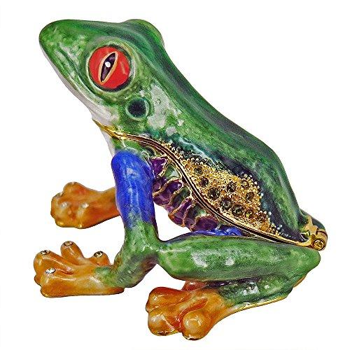 (RUCINNI Tree Frog Trinket Box (RB1721))